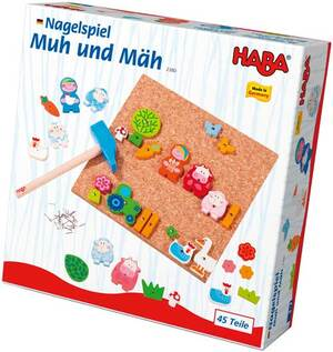HABA Nagelspiel Muh & Mäh 702380