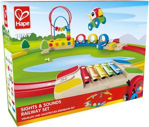 Hape Zug-Set mit Sehenswürdigkeiten 46E3815A
