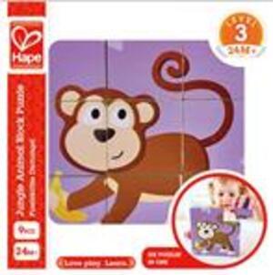 Hape Blockpuzzle Dschungel 46E1619A