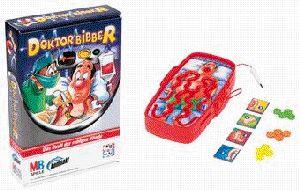 Hasbro Dr. Bibber, MB Spiele, Kompakt-Spiel für 2-4 Spieler, ab 4 Jahren, 1338100