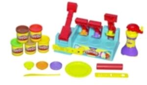 Play-Doh PLAY-DOH Bürger Küche, mit 5 Dosen Knete à 53gr, ab 3 Jahren, in Lithobox 20678148