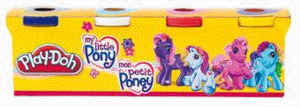 Play-Doh My Little Pony 4er Pack 22657186