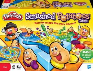 Play-Doh Play-Doh Play-Doh Kartoffelquatsch, MB Spiele, Deutsch, für 2 - 4 25363100