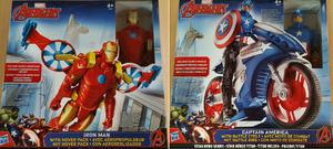 Hasbro Avengers Titan Hero-Fahrzeug mit Figur 30 cm, 2-fach (eines wird geliefert ass. ab 4 Jahren 31005776