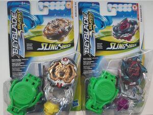 Hasbro Beyblade Burst Starter Pack SlingShock, 1 Kreisel und 1 Starter, ab 8+ 31009603