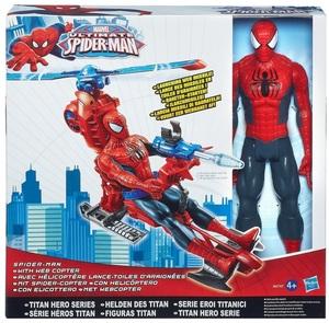 Hasbro Spider-Man mit Spidercopter Giant Action Figur, 30 cm, ab 4 Jahren 31047027