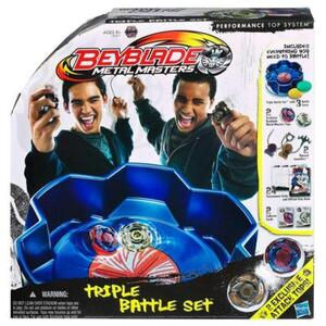 Hasbro Beyblade Triple Battle Set 30031671