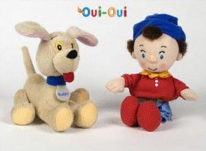 Hasbro Oui-Oui peluches asst 35016101