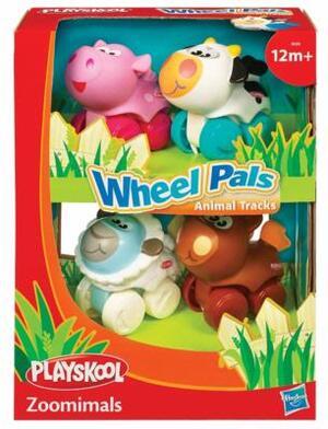 PLAYSKOOL Wheel Pals Minis 4er Pack, ab 12 Monaten, Assortiert, in Lithobox 39405148