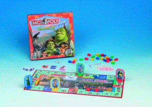 SHREK 2 MONOPOLY JUNIOR<br>Deutsch 40504100