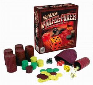 Hasbro Yahtzee Würfel-Poker 42641100