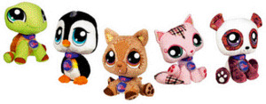 Littlest Pet Shop VIPs Virtual Interactive Pets, Sortiment, eines wird geliefert 63989148