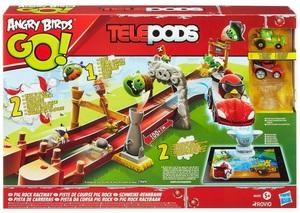 Hasbro Angry Birds Go! Telepods Schweine-Rennbahn A6030E27