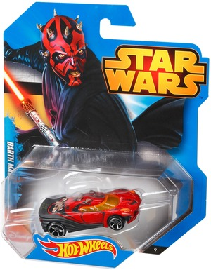 Hot Wheels Fisher-Price Character Car Darth Maul CGW44