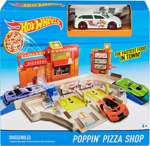 Hot Wheels Hot Wheels Drive-In Pizzastation DJD73