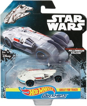 Hot Wheels Star Wars Carship Millenium Falcon DPV25