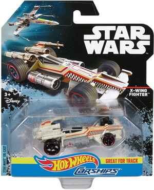 Hot Wheels Star Wars Carship Classic Luke´s X-Wing DPV26