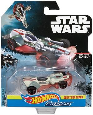 Hot Wheels Star Wars Carship Boba Fett DPV28