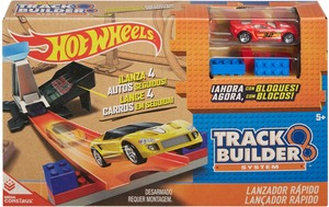 Hot Wheels Track Builder Schnellstarter Hot Wheels, Basis-Set, 1 Auto inkl., ab 6+