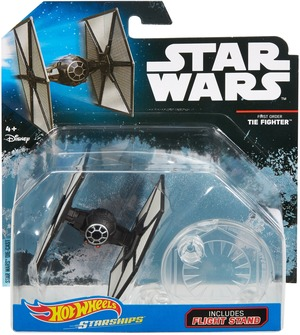 Hot Wheels Star Wars Rogue One Raumschiff Fo Tie Fighter DXX48
