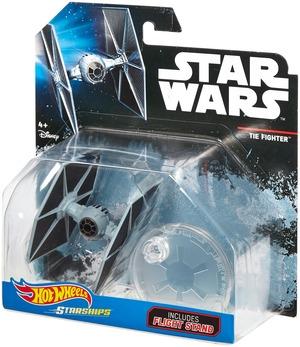 Hot Wheels Star Wars Rogue One Raumschiff Tie Fighter Blue DXX55