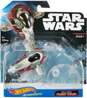 Hot Wheels Star Wars Rogue One Raumschiff Boba Fet DXX58