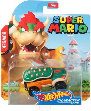 Hot Wheels Character Car Mario Bros Bowser FGK29