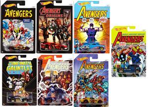 Hot Wheels Avengers Cars assortiert, 1:64, ab 3 Jahren FKD48
