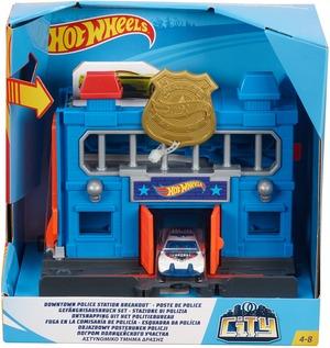 Hot Wheels City Spielset: Gefängnisausbruch Set FRH33
