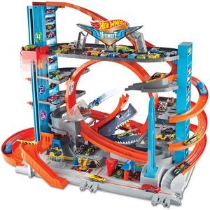 Hot Wheels Ultimate Garage 76x63x43 cm, Platz für 80 Autos, 2 Fahrzeuge inkl. 5+ 30318069