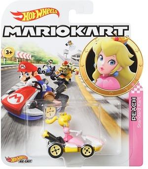 Hot Wheels Mario Kart Replica 1:64 Die-Cast Peach