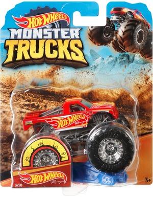 Hot Wheels Monster Trucks Racing rot Hot Wheels, 1:64, Die-Cast, ab 3+ 30318815