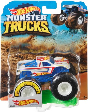 Hot Wheels Monster Trucks Racing blau Hot Wheels, 1:64, Die-Cast, ab 3+ 30318922