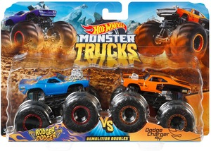 Hot Wheels Monster Trucks 2er-Pack Hot Wheels, 1:64, Die-Cast, Muscle Car, ab 3+ 30318845