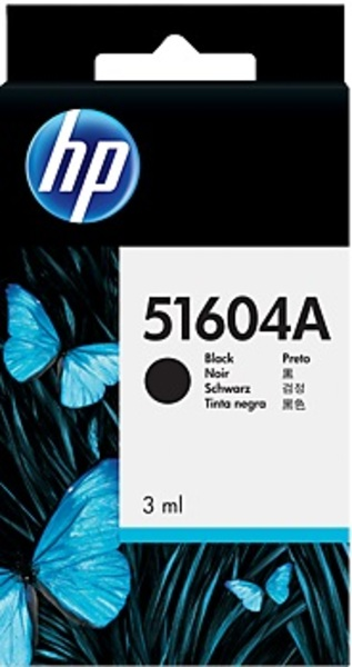 HP Ink Cartridge, black 51604A