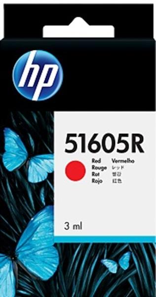HP Tintenpatrone rot 51605R