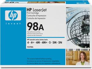 HP Hewlett-Packard 92298A Toner, EP-E, schwarz, 6'800s 92298A