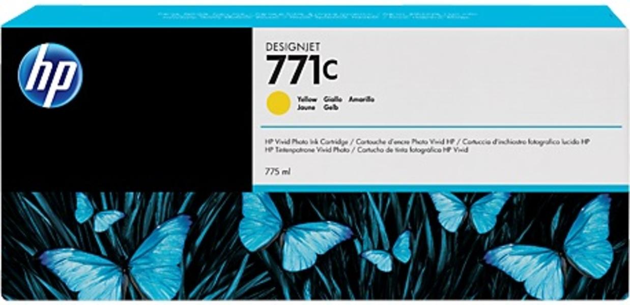 HP Tintenpatrone 771C yellow B6Y10A