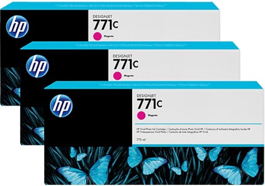 HP Tintenpatrone 771C magenta B6Y33A