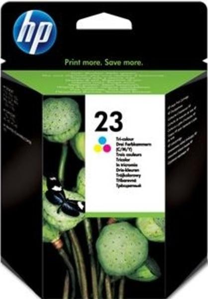 HP HP Ink Cartridge, 23, tricolor C1823DE