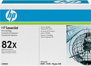 HP Toner, 82X, black C4182X