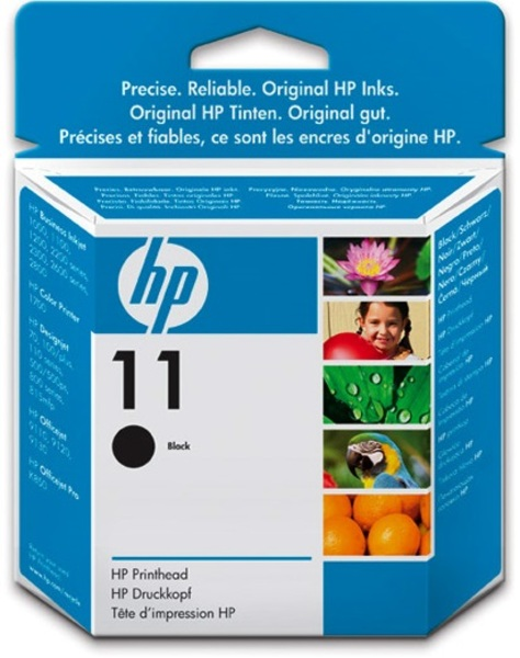 HP HP Printhead 11 black C4810A