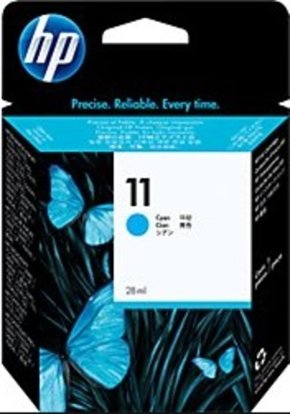 HP Ink Cartridge, 11, cyan C4836AE