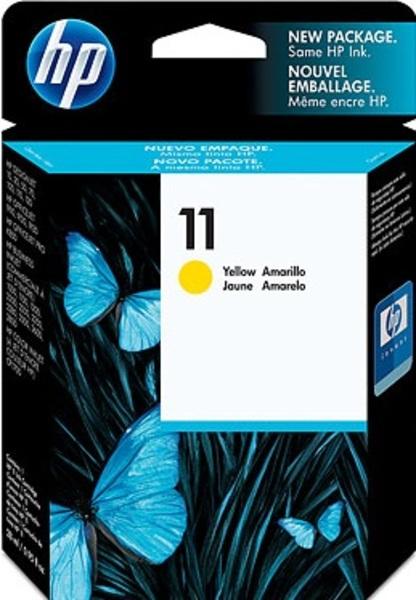 HP Tinte Nr. 11 - Yellow (C4838AE) C4838AE