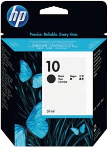 HP Ink Cartridge, 10, black C4844AE