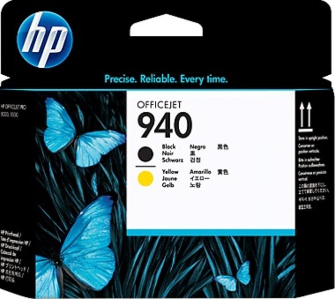 HP 940 Officejet Printhead black/yellow C4900A