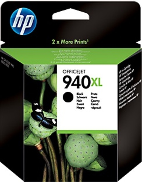 HP Tintenpatrone 940XL schwarz C4906AE