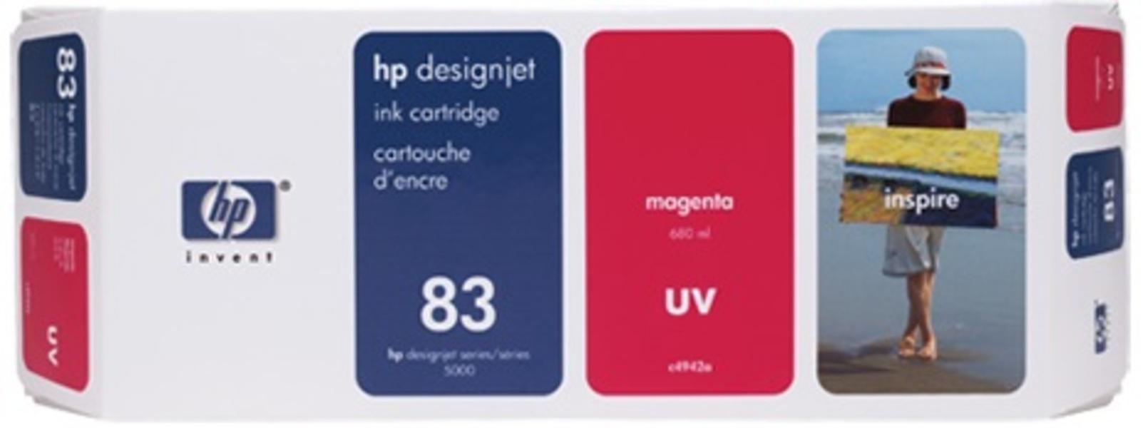 HP Ink Cartridge 83, magenta C4942A