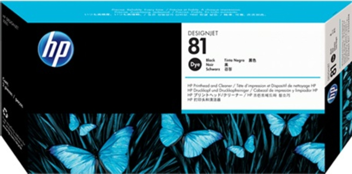 HP HP Printhead 81, black C4950A