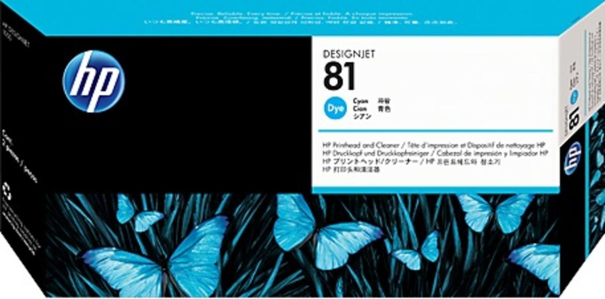HP Printhead 81 cyan C4951A